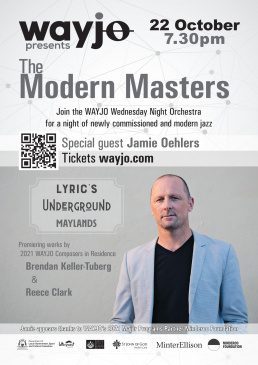 WAYJO presents The Modern Masters - 22 Oct Lyric's Underground, Maylands